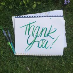 Thank You Handwritten